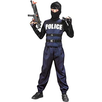 Domestic 888085L Large Rubies Childs Special Forces Costume