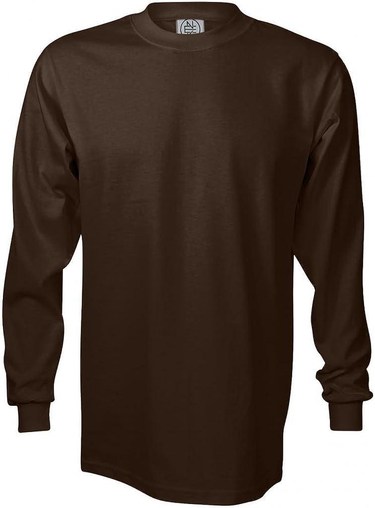 Enkalda Men's Premium Heavyweight Long Sleeve T-Shirt