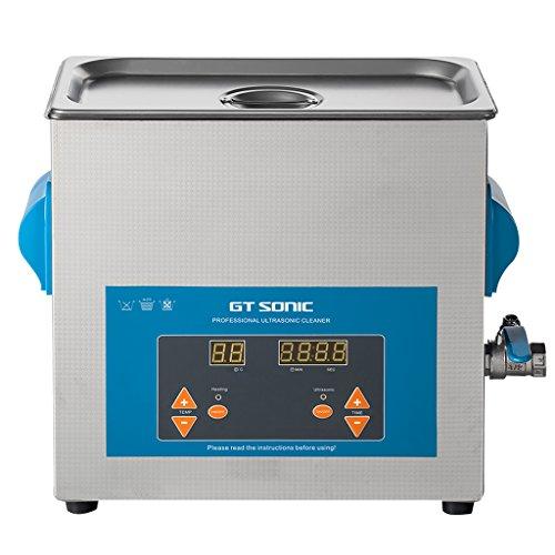Digital 6L Ultraschallreinigungsgerät Ultraschallreiniger Ultraschallbad Reinigungsgerät Heitzung großer Tank mit Korb