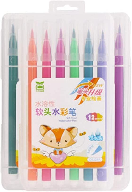 Washable San Max 52% OFF Francisco Mall Watercolour Paint Brush Pen Set Ti Marker Art Soft Pens