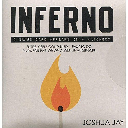 Joshua Jay hat Inferno (Gimmick + DVD)