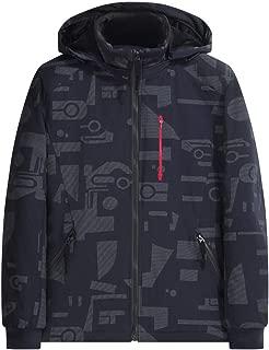 iLUGU Hoodie Men's Winter Flight Jacket Fashion Printing Hoodie Casual Sports Thickened Cotton Jacket Coat