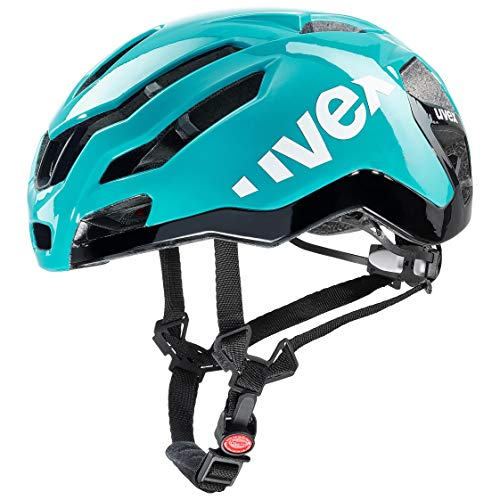 Uvex Race 9 Casco Ciclismo, Unisex Adulto, Azul, (53-57)