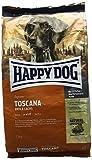 Happy Dog - Croquettes suprêmes Toscana Sensitive Canard et Saumon - 1 kg