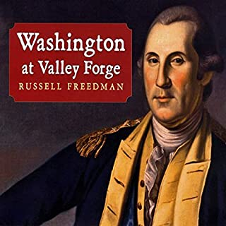 Washington at Valley Forge  audiobook cover art