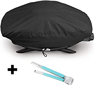 RunTo Heavy Duty 7111 Grill Cover Fits Weber Q 200/2000 Series Gas Grills