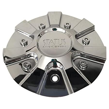 Status Wheels C597703 CAP-S222 Chrome Wheel Center Cap 2490