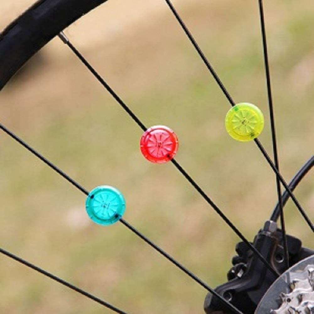 Bike Wheel Lights Bike Spoke Lights with Batteries Included for Safe Cycling Cool LED for Ultimate Safety /& Style Waterproof Ultra Durable Easy to Install for All Ages