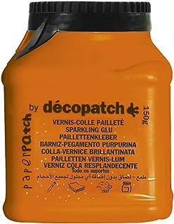 Décopatch PP150PAILO - Un pot de Vernis colle Pailleté PaperPatch 180g