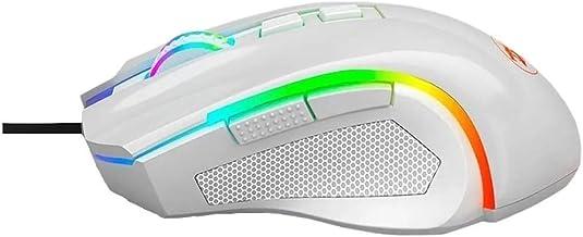 Mouse Gamer Redragon Griffin Lunar White M607W