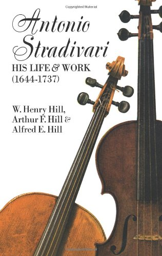ANTONIO STRADIVARI REV/E 2/E: His Life and Work (Dover Books on Music)