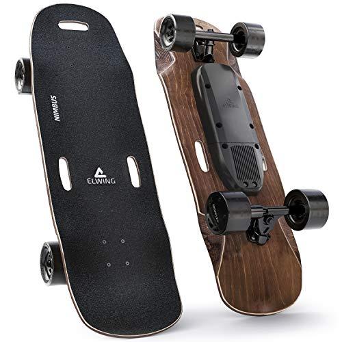 Elwing Boards - Monopatin Eléctrico Adulto Modular - Skateboard Powerkit Nimbus Sport - Motor Simple 32Km/h - Batería Estándar 15 Km - IP65 a Prueba de Agua y Polvo - Diseñado en Francia
