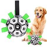 BlueFire Hundeball Hundespielzeug Ball, 15cm Kauspielzeug Robuster aus Naturkautschuk Hundespielball, IQ-Trainingsball Interaktives Kauspielzeug Haustierspielzeug für Große und Kleine Hunde Haustiere