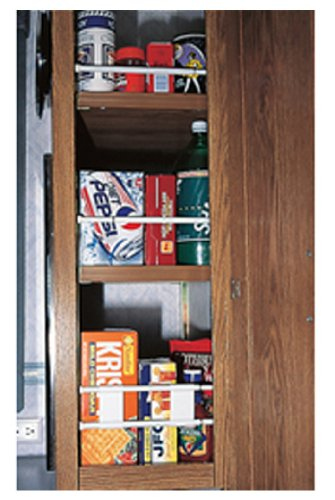 Camco 44063 Cupboard Bars - 3 pack