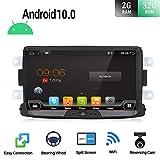 Android 9.0 Autoradio 1 Din Car Stereo Compatible para Renault Duster/Dacia Sandero/Lada Xray 2/Renault Captur/Logan Coche Navegacion GPS | 8 pulgadas 2G+32G Octa Core | LIBRE Cámara trasera & Canbus