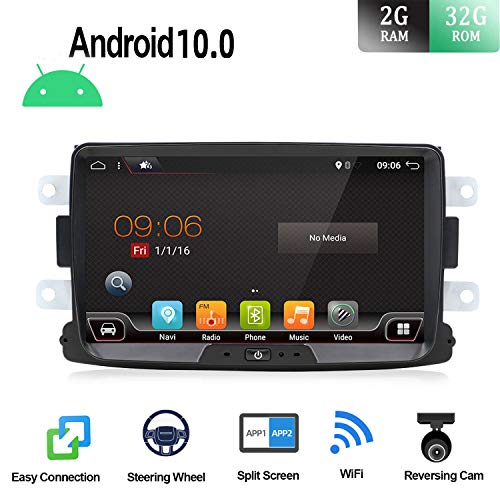 Android 9.0 Autoradio 1 Din Car Stereo Compatible