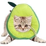 AEITPET Collare elisabettiano Gatto Collari Protettivi e Coni, Collo di Protezione Collari Protettivi Gatto Colletto Collare Collari Collare per Gatto Collare Protettivo (M, Verde)