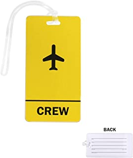 Crew Luggage Tag (Yellow)