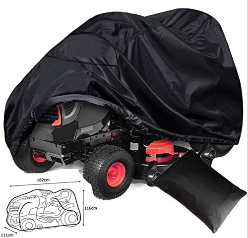 ConPus Riding Lawn Mower Cover Waterproof Polyester Oxford Tractor Cover
