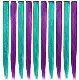 Hayami 10PCS Princess Colorful Extensions Multi-Colors...