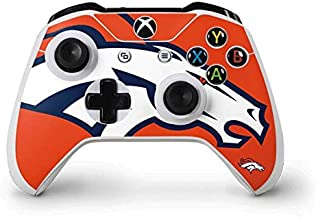 Skinit Decal Gaming Skin for Xbox One S Controller - Officially Licensed NFL Denver Broncos Large Logo Design