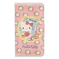 """Galaxy S21 ケース と互換性があります Hello Kitty ハローキティ ダイカット手帳型 スマホカバー 【 ギャラクシー S21 ケース (6.2"""") 】 (ハローキティ 日記) [並行輸入品]"""