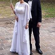 Abendkleid Hochzeit Abend Gala WEI/ß- CREME tiefes dunkles Blau Chiffon Stola Chiffonschal perfekt zu jedem Brautkleid RUTSCHT NICHT - L/änge 245cm - SCHWARZ- MARINEBLAU Ivory