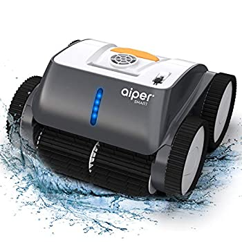 AIPER SMART Cordless Robotic Pool Cleaner Wall-Climbing Triple-Motor Intelligent Route Plan Tech Automatic Pool Cleaner Max Cleaning Coverage Ideal for in/Above Ground Pools Suit for 1614 Sq Ft