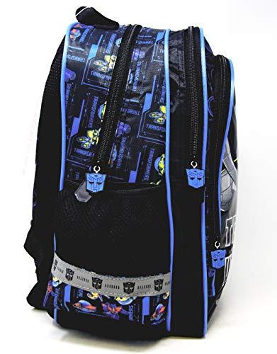 51aDBFeERxL - Transformers Team Up - Mochila escolar (38 x 29 x 18 cm, para DIN A4), diseño de Optimus & Bumblebee