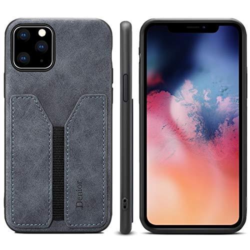 Wdckxy - Funda protectora para iPhone 11 (poliuretano y poliuretano termoplástico), color gris