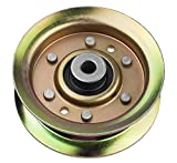 """Idler Pulley Fit for Craftsman Mower - Idler Pulley Bearings Fit for Craftsman LT1000 LT2000 Lawn Mower Tractor with 42"""" Deck, Replacement for 532173437 532131494 532173438 165888"""