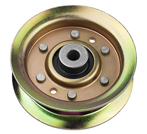 Idler Pulley Fit for Craftsman Mower - Idler Pulley Bearings Fit for Craftsman LT1000 LT2000 Lawn Mower Tractor with 42' Deck, Replacement for 532173437 532131494 532173438 165888