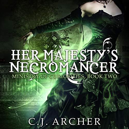 Couverture de Her Majesty's Necromancer
