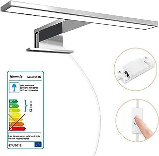 Luminaire Salle De Bain 8W Lampe Miroir LED Blanc Neutre IP44 Avec  Interrupteur Du0027Alimentation