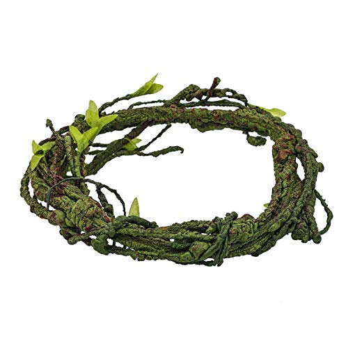 Sockeroos Jungle Vines Flexible Pet Habitat Decor, Perfect for Chameleons Snakes Lizards