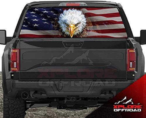 Pickup truck decals