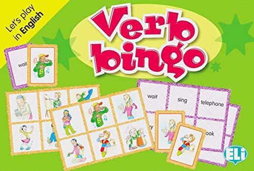 Verb bingo: Let' s play in English. 66 Spielkarten, 36 Bingokarten, Spielanleitung
