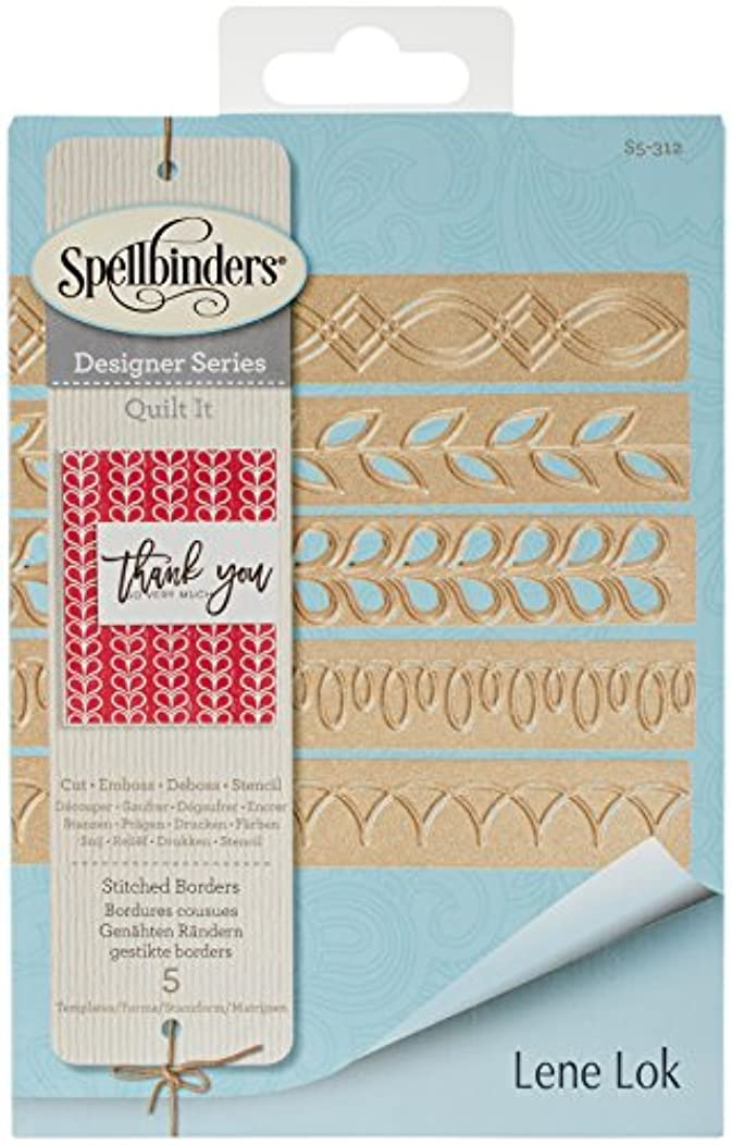 Spellbinders Shapeabilities Stitched Borders Etched/Wafer Thin Dies