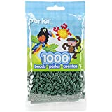 Perler Beads Fuse Beads for Crafts, 1000pcs, Evergreen