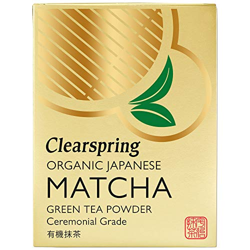 Clearspring - Japanese Organic Matcha Green Tea Powder - Ceremonial Grade - 30g