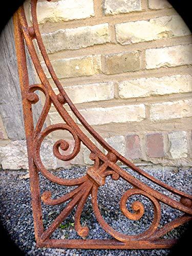 Antikas - Großer Winkel-Träger-Stütze für Vordach,Schutzdach, Dach, Abdach an Haustür 91cm