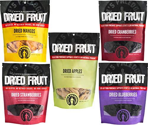 Steve's PaleoGoods, Dried Fruit Sampler, 30 oz - Dried Fruit No Sugar Added, Paleo Snacks, Low Calorie Snacks