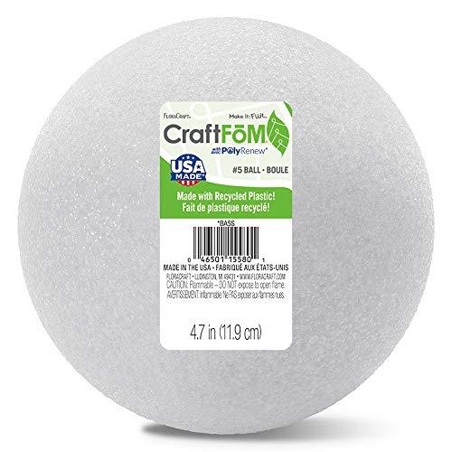 Price comparison product image FloraCraft CraftFM Ball 4.7 Inch White
