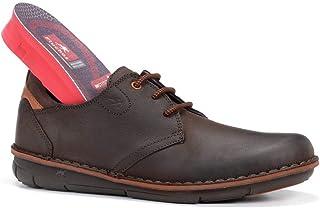 Fluchos | Zapato de Hombre | Alfa F0700 Desert Castaño Zapato | Zapato de Piel de Vacuno engrasada de Primera Calidad | Ci...