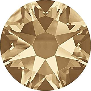 2000, 2058 & 2088 Swarovski Nail Art Gems Crystal Golden Shadow | SS12 (3.1mm) - Pack of 1440 (Wholesale) | Small & Wholesale Packs