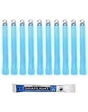 Cyalume Barras de luz azul SnapLight Glow Sticks 15cm, 6 inch Lightstick super brillante