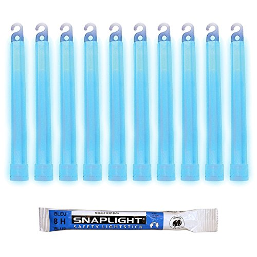 Cyalume SnapLight Bleu 15cm Bâton Lumineux Glow Stick Light Stick Fluorescent Durée 8 heures (Boîte de 100)