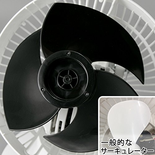 アイリスオーヤマ『強力コンパクトサーキュレーター左右首振りタイプ(PCF-SC15)』