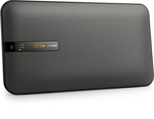 Philips Mini Stereoanlage BTM2660/12 Bluetooth Stereoanlage (Bluetooth, Multipair, USB Direct, MP3-CD, Wandmontage) schwarz