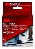 3M Safety-Walk Slip Resistant Tape, Black, 610B-R4X180, 4 in. x 15 ft.